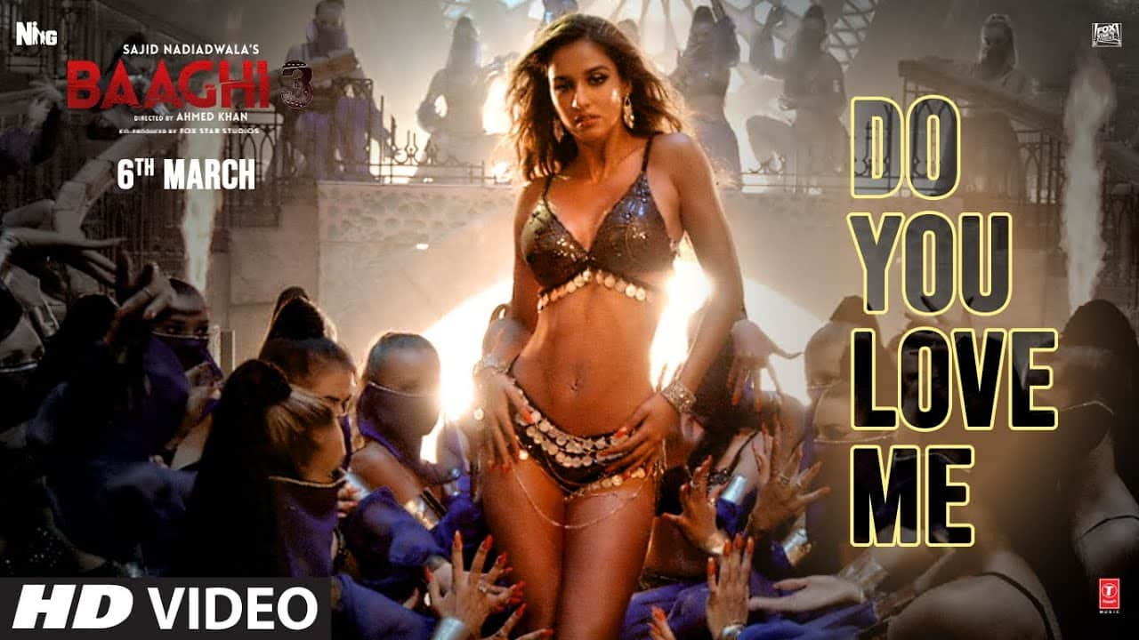 Do You Love Me Lyrics | Baaghi 3 | Nikhita Gandhi