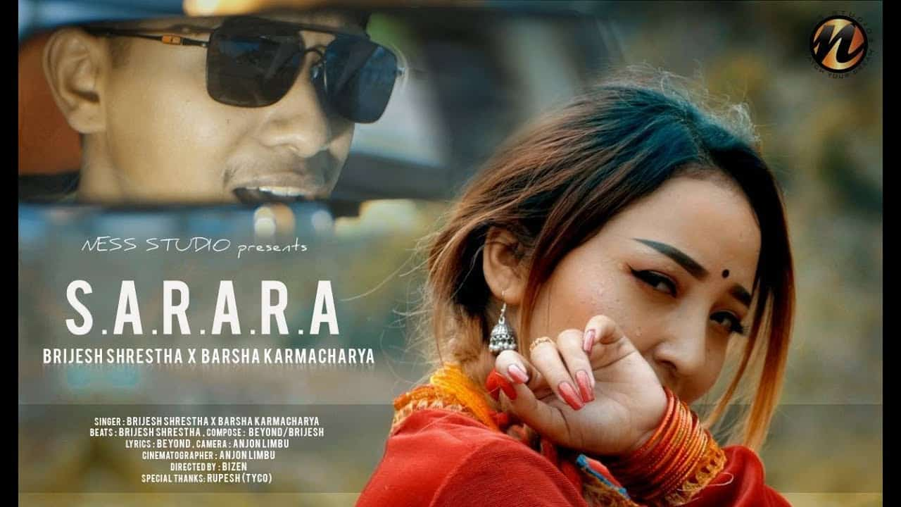 Brijesh Shrestha | sarara lyrics | Barsha Karmacharya