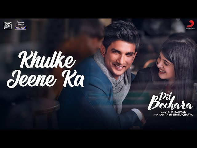 khulke jeene ka lyrics in english | Arijit Singh & Shashaa Tirupati