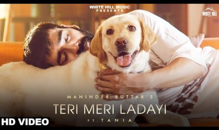 teri meri ladai lyrics | Maninder Buttar & Akasa | latest lyrics